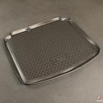 Коврик в багажник Seat Leon хетчбек (05-) резиновые Norplast