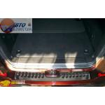 SSANGYONG Накладка на бампер SsangYong Rexton - Полигон Авто