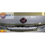 FIAT Накладка на бампер Linea 2012 седан - Полигон Авто