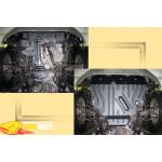 Toyota RAV4 2,0; 2,4 с 2006г. Защита моторн. отс. ЗМО категории St - Полигон Авто
