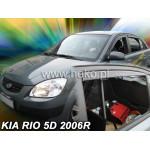 Ветровики на KIA RIO 5d2005-2011r. (+OT) htb - HEKO