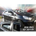 Ветровики на KIA RIO 5d 2011r. (+OT) htb - HEKO