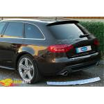 Audi A4 AVANT (2009-) Порог заднего бампера (нерж.) - Omsa Line