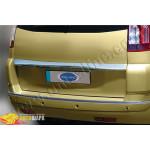 Citroen C4 Picasso (2006-2010) Накладка над номером на багажник (нерж.) - Omsa Line
