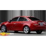 Chevrolet Cruze седан (2009-) Верхние молдинги стекол (нерж.) 6 шт. - Omsa Line