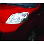 Fiat Fiorino/Qubo (2007-) Окантовка на передние фонари (нерж.) 2 шт. - Omsa Line