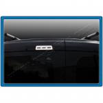 Fiat Fiorino/Qubo (2007-) Окантовка заднего стоп-сигнала (нерж.) (Combimix) - Omsa Line