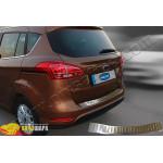 Ford B-max (2012-) Порог заднего бампера (нерж.) - Omsa Line