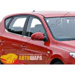 Hyundai i30 5D (2007-2011) Нижние молдинги стекол (нерж.) 8 шт. - Omsa Line
