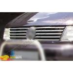 Mercedes Vito W638 (1996-2003) Накладки на решетку радиатора (нерж.) 10 шт. - Omsa Line