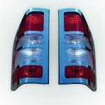 Opel Combo C (2001-2011) Окантовка на стопы (Аbs хром) 2 шт. - Omsa Line