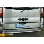 Opel Vivaro (2001-2010) Порог заднего бампера (нерж.) - Omsa Line