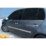 VW Golf (2004-2009) Молдинг дверной (нерж.) 4 шт. - Omsa Line