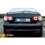 VW Jetta (2005-2011) Нижняя кромка крышки багажника (нерж.) - Omsa Line