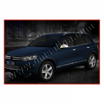 VW Touareg (2010-) Нижние молдинги стекол (нерж.) 6 шт. - Omsa Line