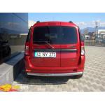 Защита задняя Dacia/Renault Logan MCV 05+ /ровная - ST-Line