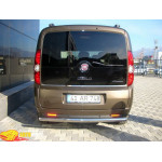 защита задняя Fiat Doblo с 2010 /ровная - ST-Line
