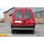 Защита задняя Fiat Sсudo (1998-2006) /ровная - ST-Line