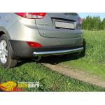 Защита задняя Hyundai IX-35 (2010-) /ровная - ST-Line