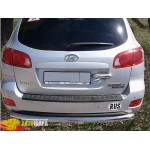Защита задняя Hyundai Santa fe с 2006… /ровная - ST-Line