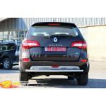 защита задняя Renault Koleos 15+ /ровная - ST-Line