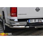 Защита задняя Volkswagen Amarok (2010-) /двойн углы - ST-Line