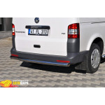 Защита задняя Volkswagen T-5 /углы - ST-Line