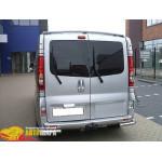 Защита задняя Opel Vivaro/Renault Trafic /углы - ST-Line