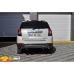 Защита задняя Chevrolet Captiva /изогнутая - ST-Line