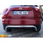 Защита задняя Nissan Juke 2010+ /изогнутая - ST-Line