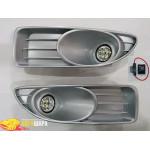 Фара противотуманка Fiat Linea 2012- (комплект - 2шт) /LED - G-plast