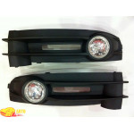 Фара п/тум. Volkswagen Caddy 04-12 (комплект - 2шт) - G-plast