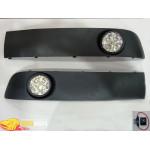 Фара противотуманка Volkswagen T5 10- (комплект - 2шт) / LED - G-plast
