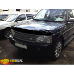 Дефлктор капота LAND ROVER Range Rover 02-12, темный - SIM