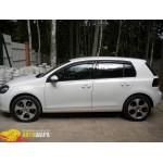 Дефлекторы окон Volkswagen GOLF VI 2009- - SIM