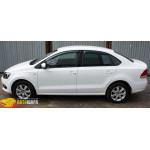Дефлекторы окон Volkswagen POLO седан V 2010- - SIM