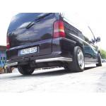 Защита задняя Mercedes Vito 96-03 /углы - ST-Line