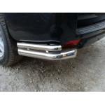 Защита задняя Fiat Sсudo с (2007-) /двойн углы - ST-Line