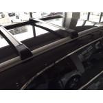 Багажник на интегрированные рейлинги CrossWing хром - Erkul