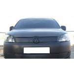 Зимняя накладка Volkswagen Caddy 2010- (верх решетка) - FLY
