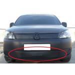Зимняя накладка Volkswagen Caddy 2010- (низ решетка) - FLY