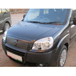 зимняя накладка Fiat Doblo 2006-2012 (верх) - FLY