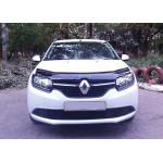 Дефлектор капота Renault Logan 2012- - Vip Tuning