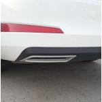 Окантовка выхлопных труб(обманка) Skoda Octavia (A7) 2013- - AutoPlast