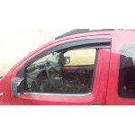 Дефлекторы окон Fiat Fiorino 2008- накладные (2 шт)