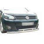 Кенгурятник Volkswagen Caddy (2010-) / ус двойной