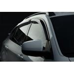 Дефлекторы окон Volkswagen PASSAT B8 седан, 15-, 4ч., темный - SIM