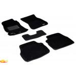 Трехслойные коврики Sotra 3D Classic 8mm Black для Subaru Forester (mkIII) 2009-2012