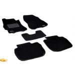 Трехслойные коврики Sotra 3D Classic 8mm Black для Subaru Outback (mkIV) 2009-2014