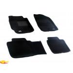 Трехслойные коврики Sotra 3D Premium 12mm Black для Toyota Camry (XV40) 2007-2011